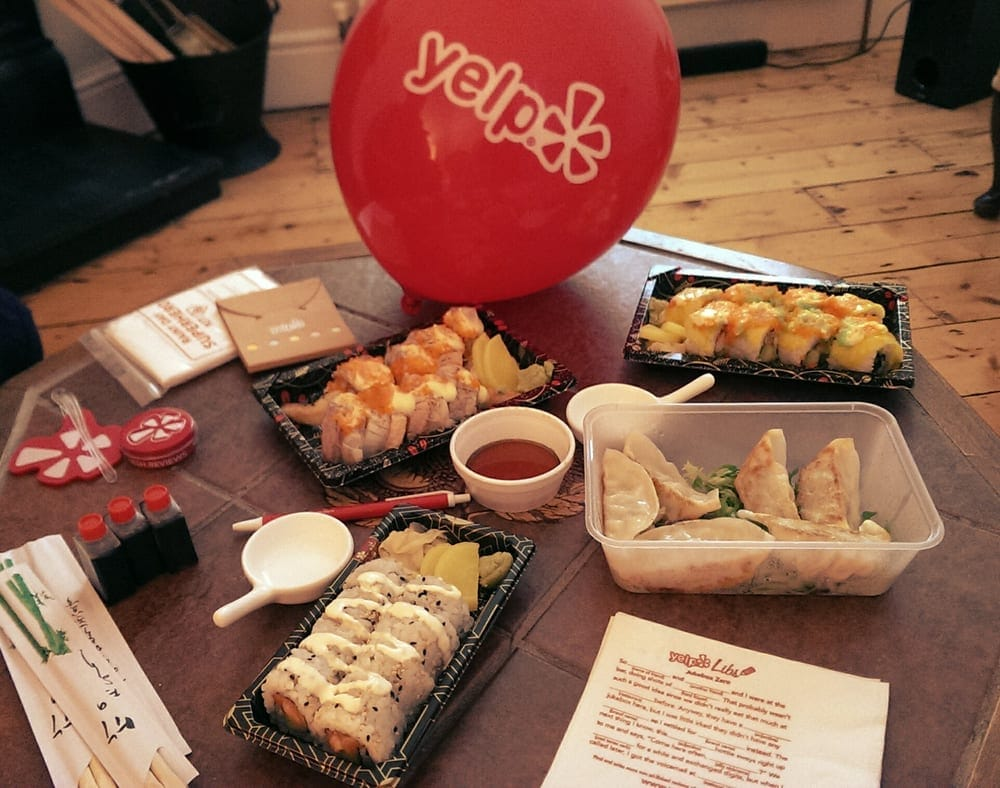 Yelp Dublin Deliveroo Banyi Japanese Dining Restaurant